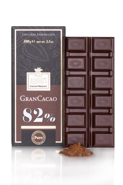 Slitti Gran Cacao 82%